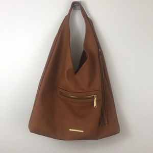 "Steve Madden Boho ""Bailey"" Faux Leather Tote"